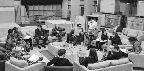 Casting of Star Wars 7.