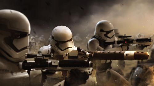 clone troopers in attack
