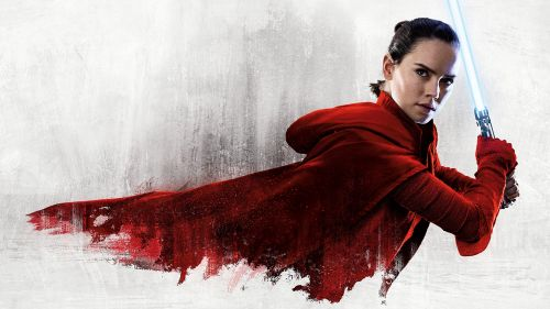 Rey Lightsaber - The Last Jedi