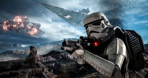 Star Wars Battlefront Art 2