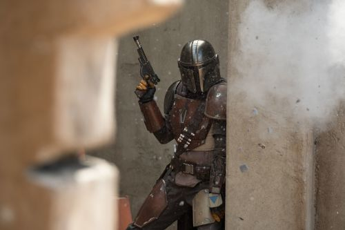 The Mandalorian in Action